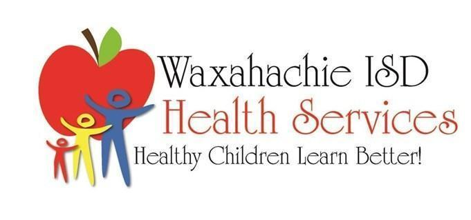 graphic reads Waxahachie ISD health services  Healthy kids learn better!