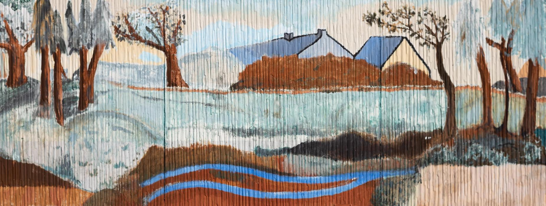 Bungalow Art Work Up Close