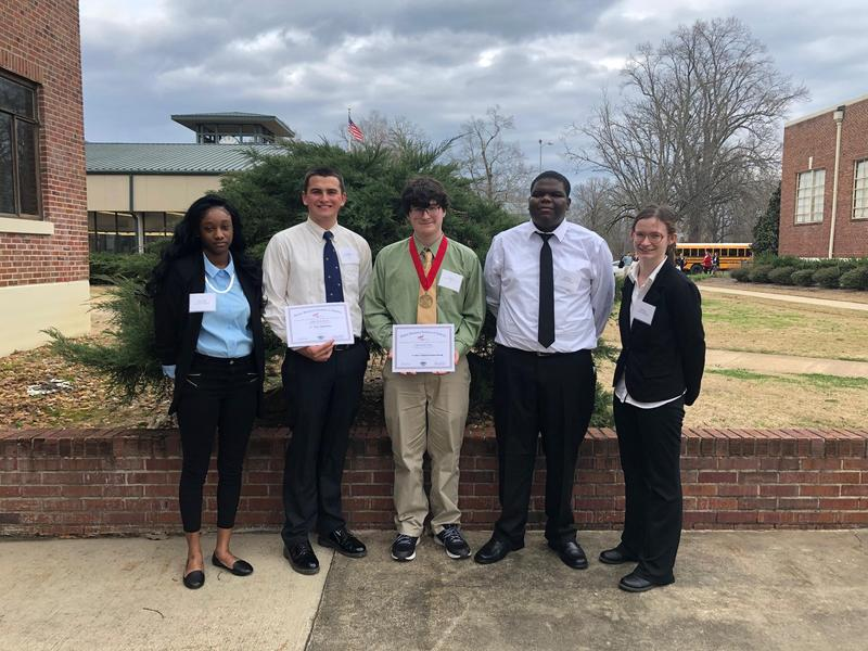 FBLA Competes in District Competition Featured Photo