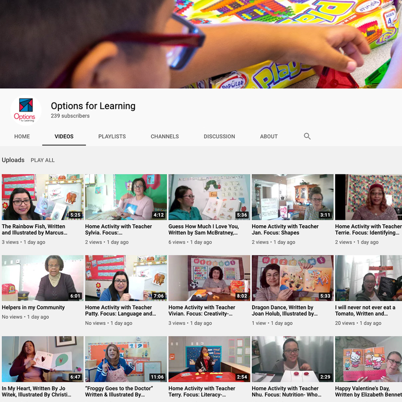 Hundreds of at-home learning videos available Featured Photo