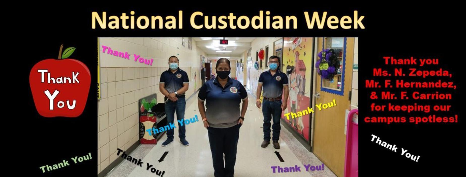 custodian week