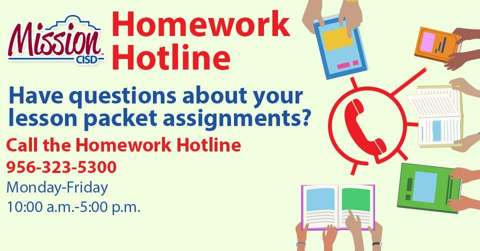 homework hotline graphic