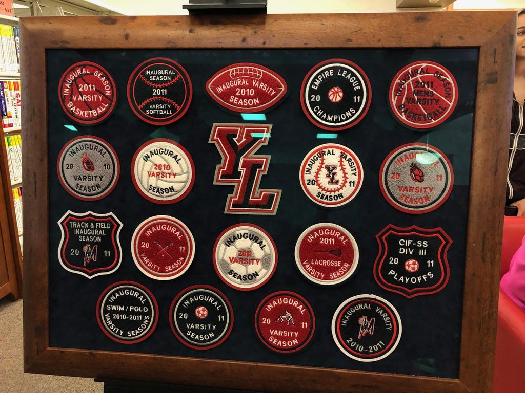 YLHS 10th Year Celebration History Display