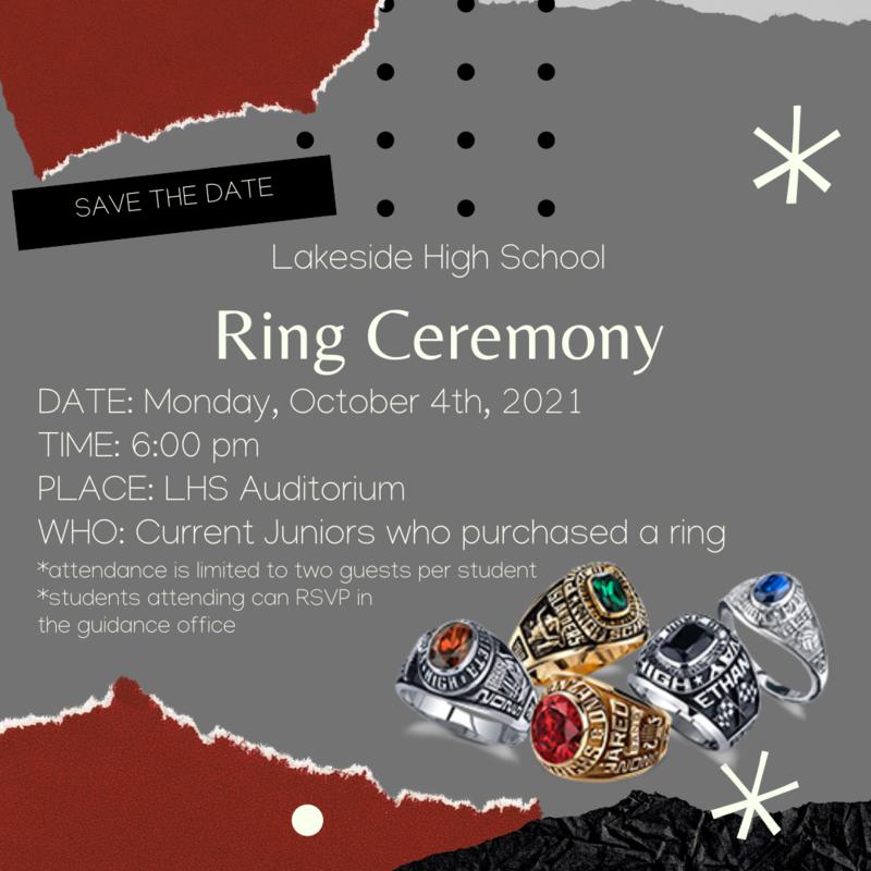 Ring Ceremony Oct. 4th