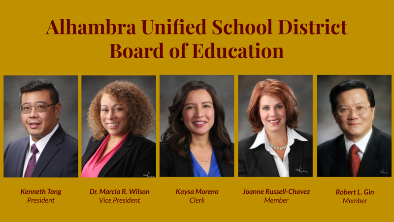 New AUSD Board of Education Featured Photo