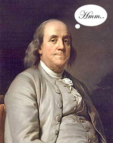 """""""We are all born without knowledge, but curious. With curiosity we should be able to learn as much as possible. With curiosity, it has to take a lot of work to remain ignorant."""" Ben Franklin"""
