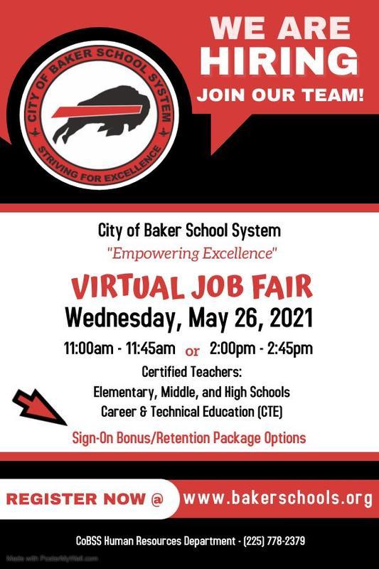 CoBSS to Host Virtual Job Fair!!! Featured Photo
