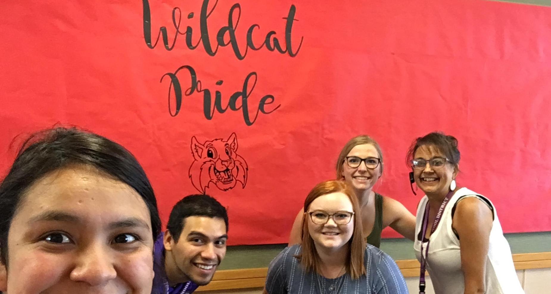 New teachers visit West Park.