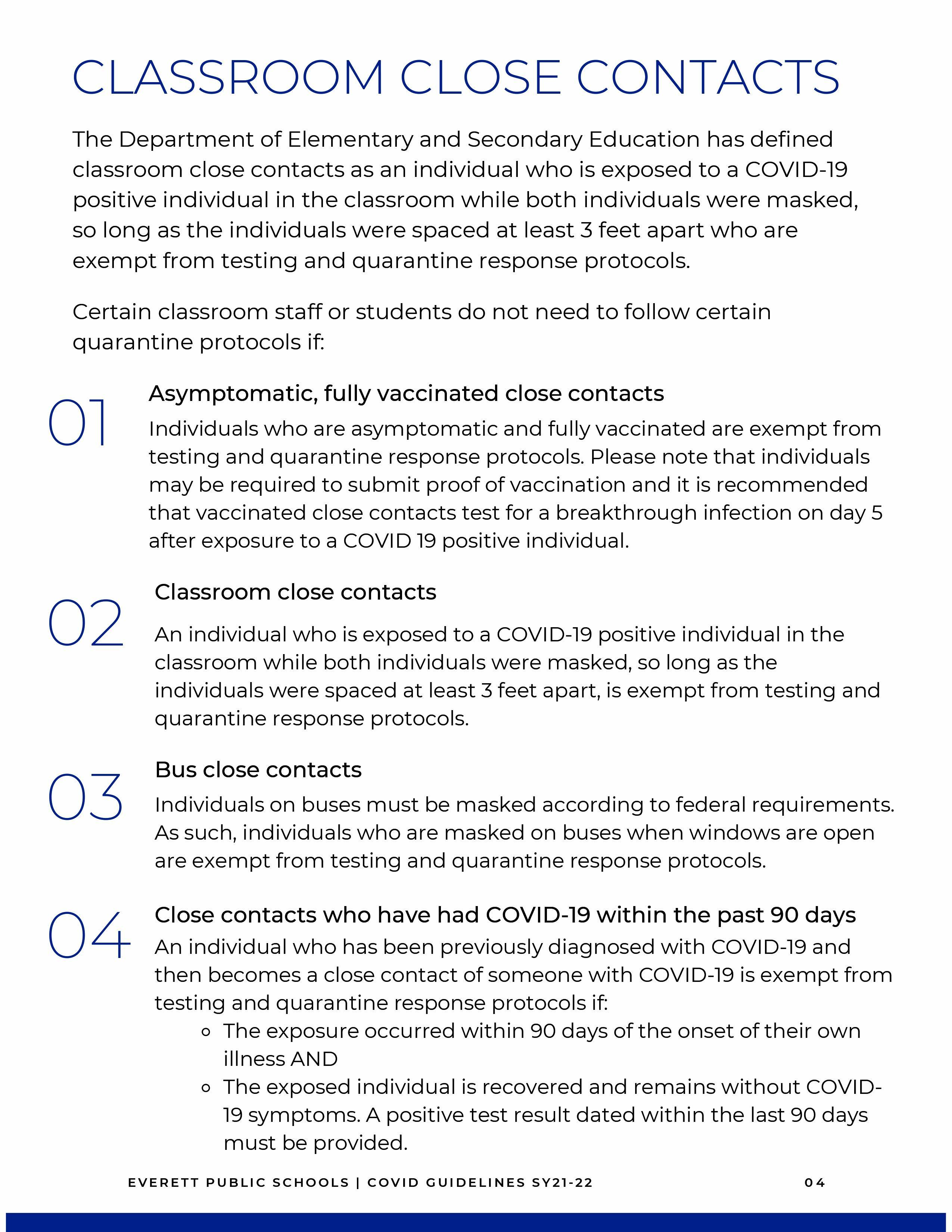 Covid-19 safety flyer, all text