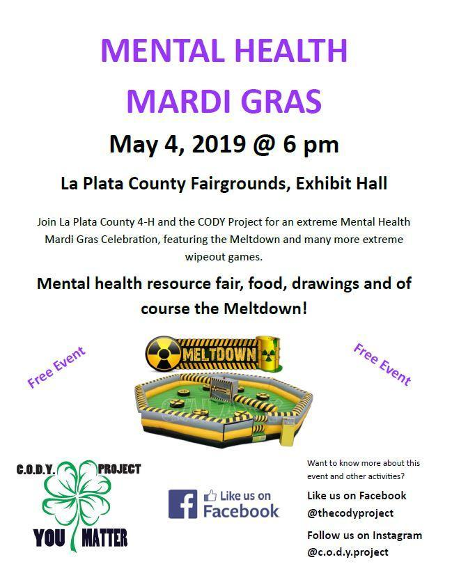 Mental Health Mardi Gras 2019