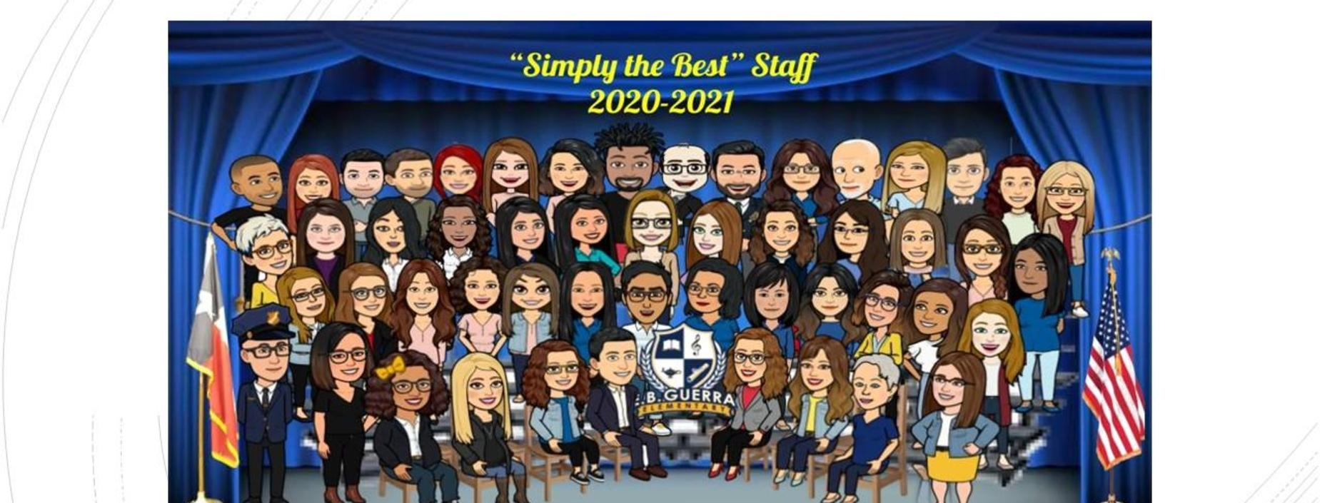 Guerra staff bitmoji picture