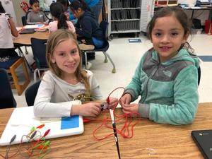 Students learn to create code