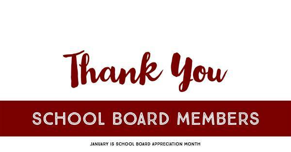 Thank you, School Board