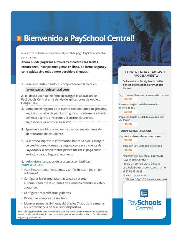 spanish payschools central toolkit