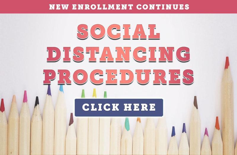 New Social Distancing Enrollment Procedures at Glenview