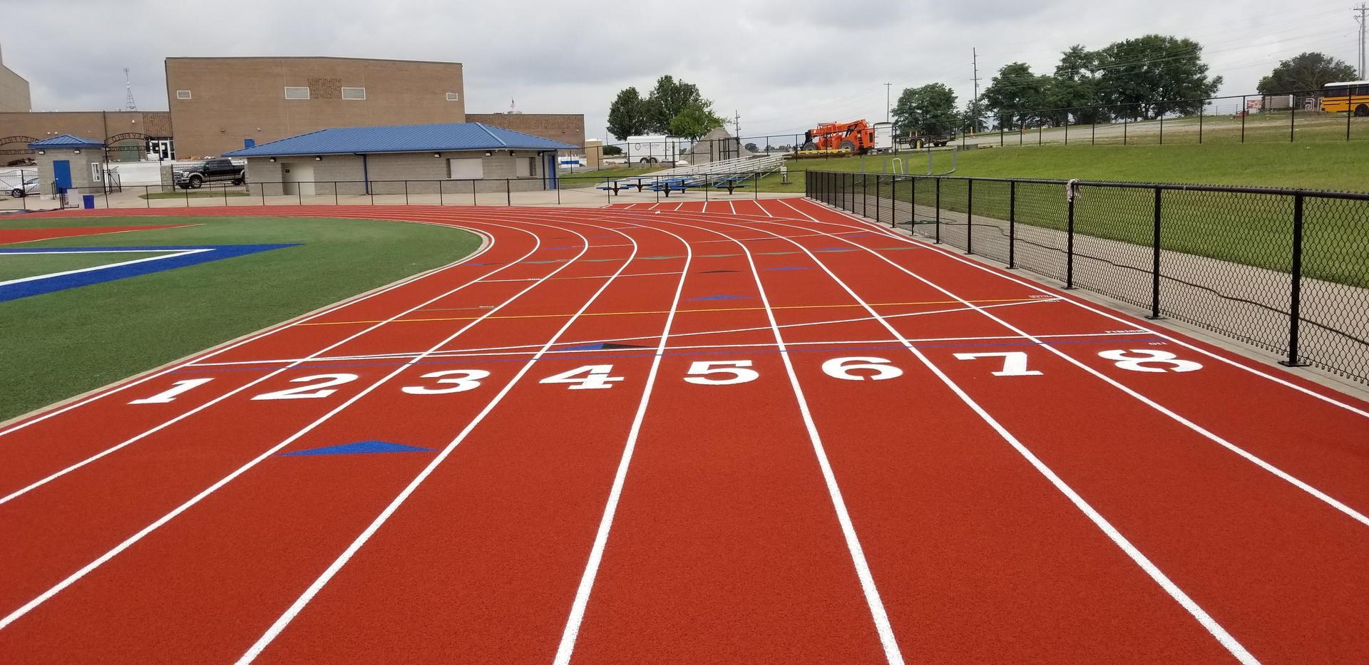 HS Track Finished
