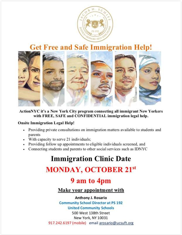 immigration flier english