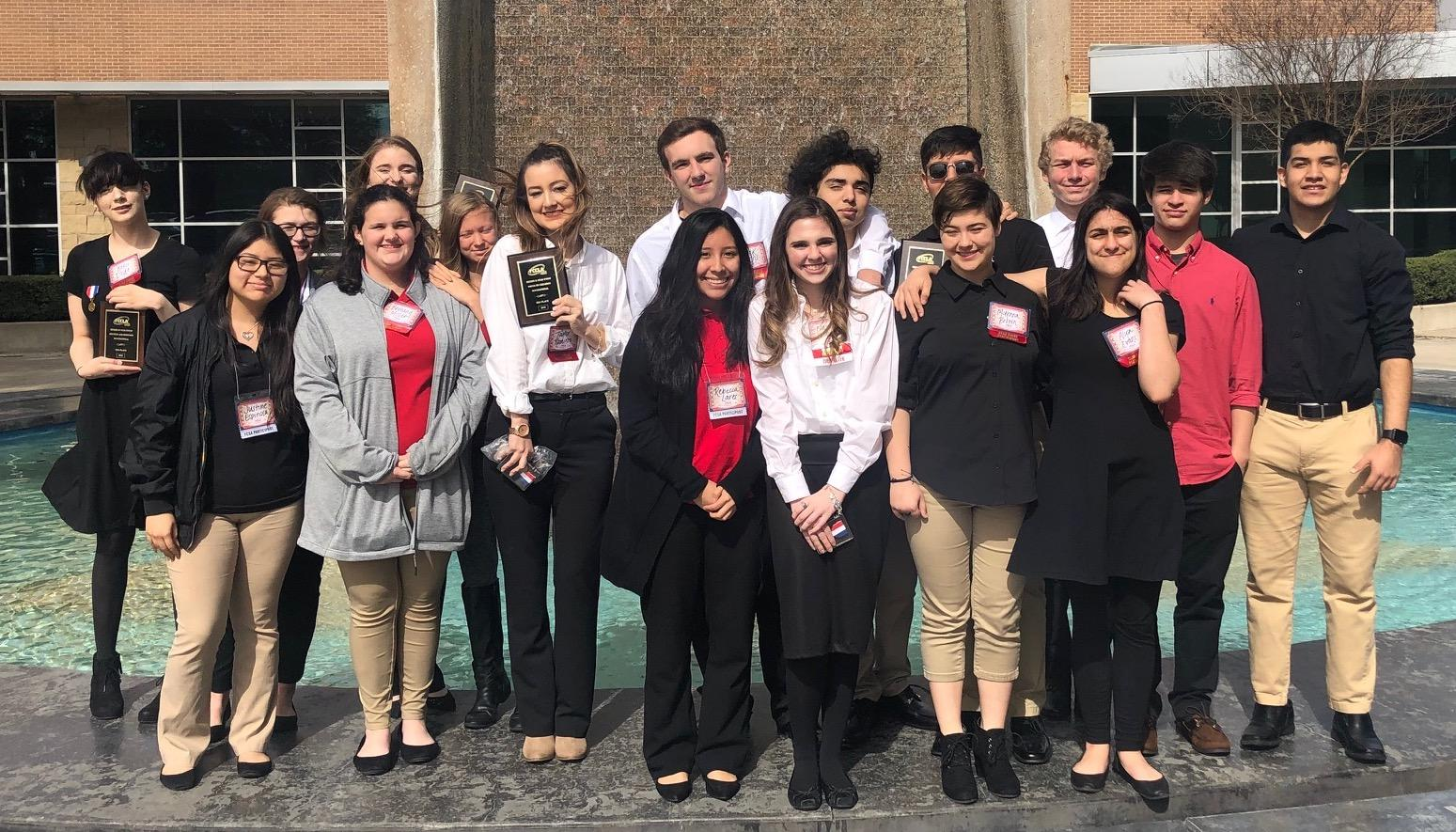 Brewer High School FCCLA students competed at the Region II meeting on Feb. 23, and 10 out of 19 members will advance to the state competition in April.