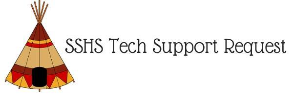 SSHS Tech Support Request Form