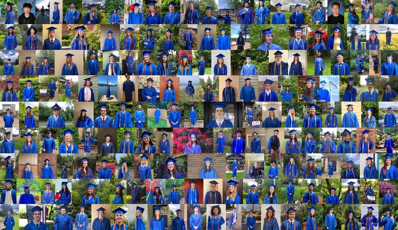 collage of graduates