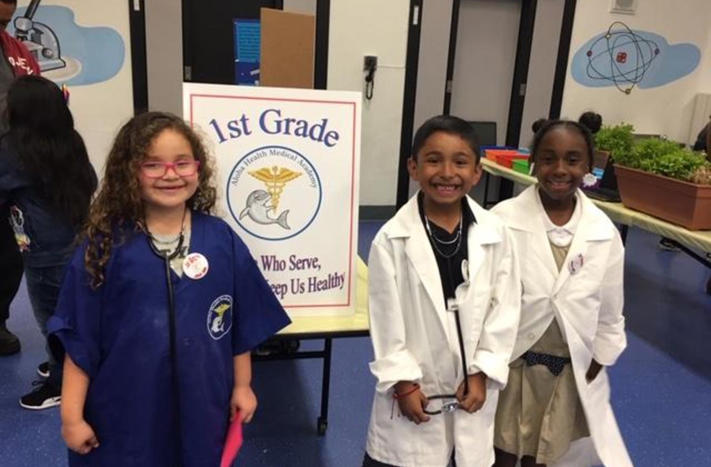Aloha 1st graders
