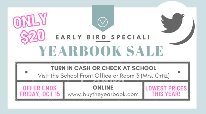 Yearbook Sales 2021