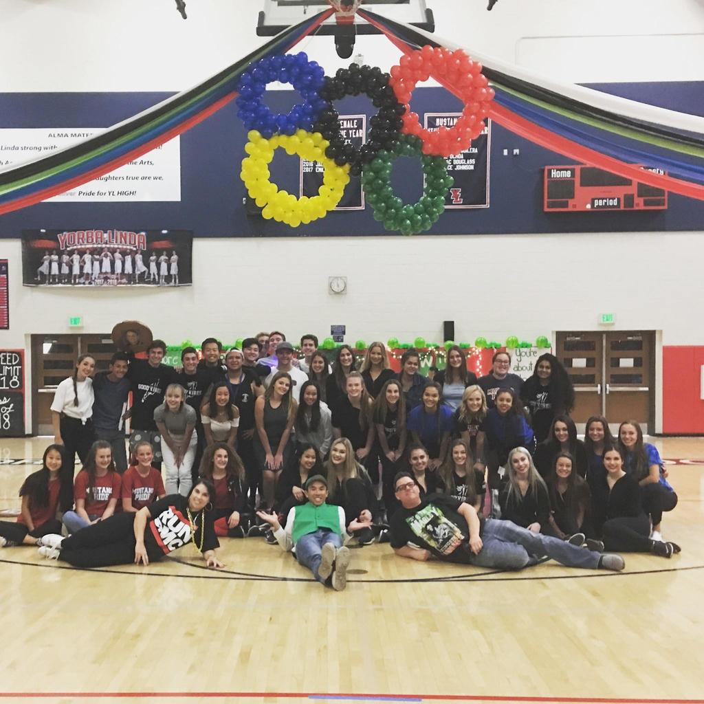 2018 YLHS Olympics photos of staff and students participating