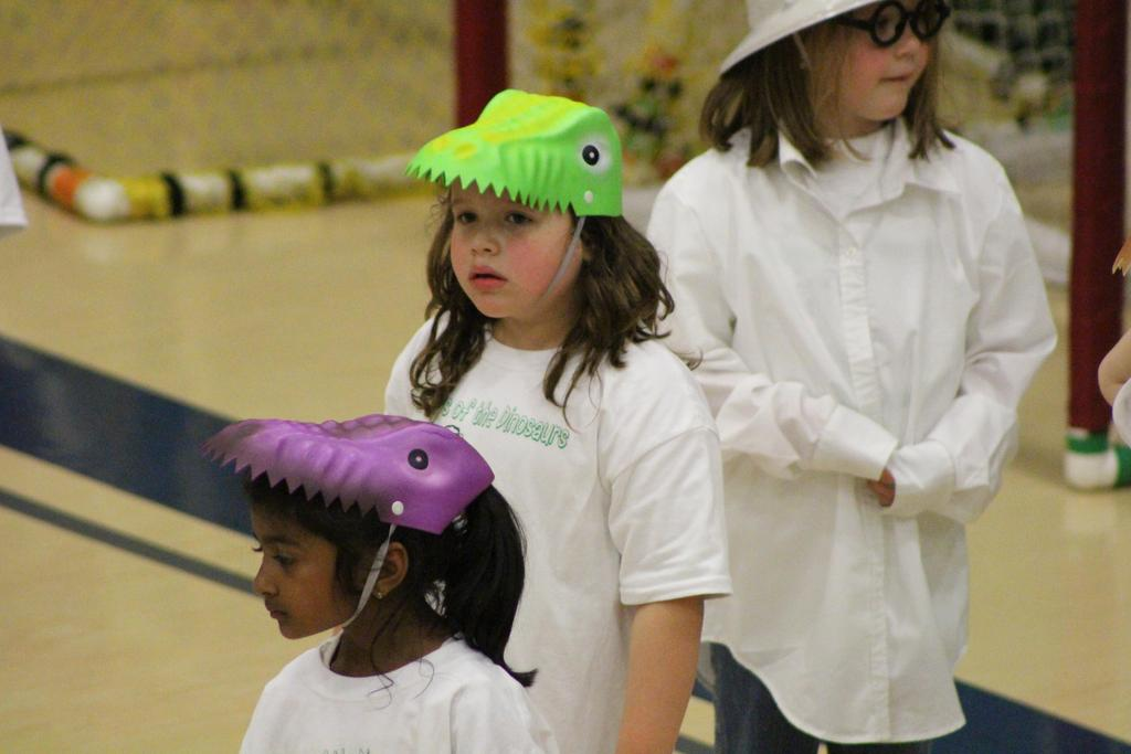 The Days of the Dinosaurs Kindergarten Play