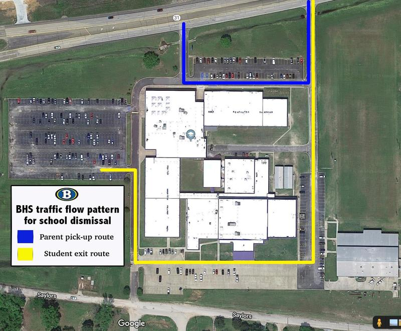 Dismissal traffic plan Featured Photo