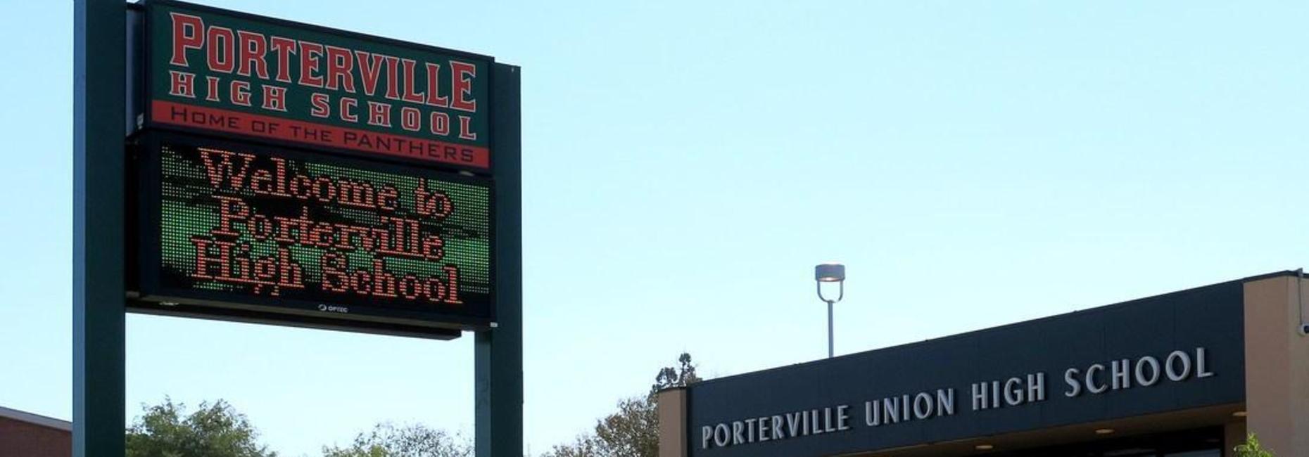 Porterville High