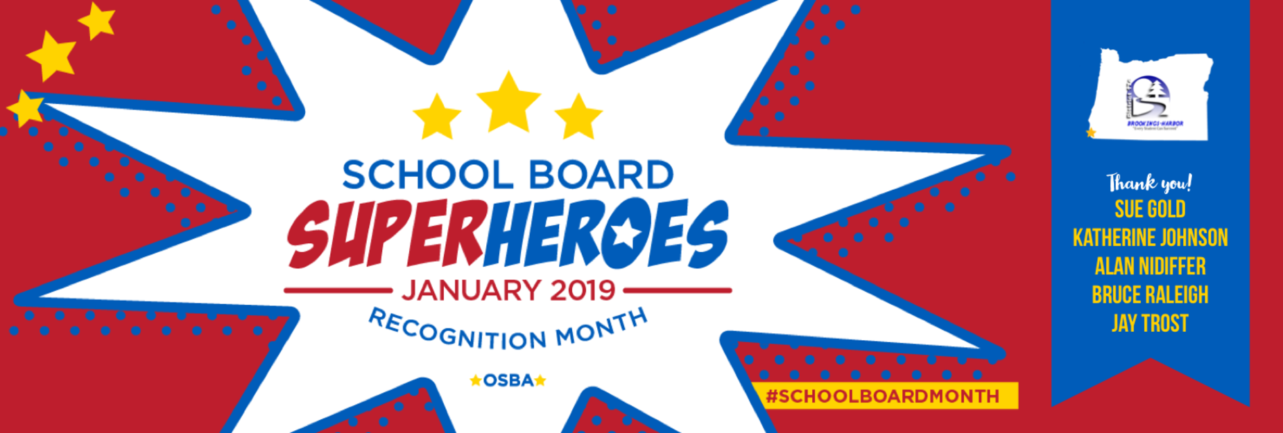 School Board Recognition Month