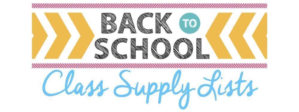 Class Supply Lists
