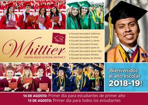 2018-19 School year