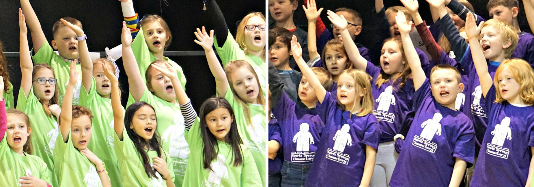 picture of 2nd grade music concert