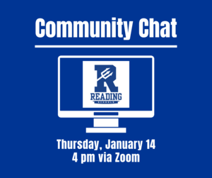 Community Chat Via Zoom January 14 at 4pm