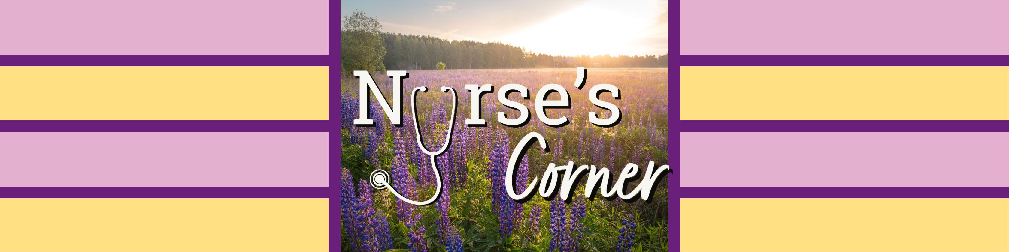 Nurse's Corner Header