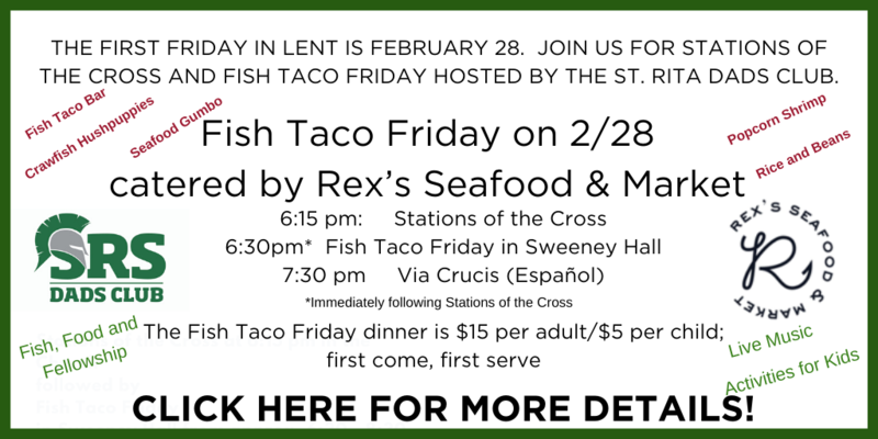 Join Us for Fish Taco Friday on Feb. 28 Thumbnail Image