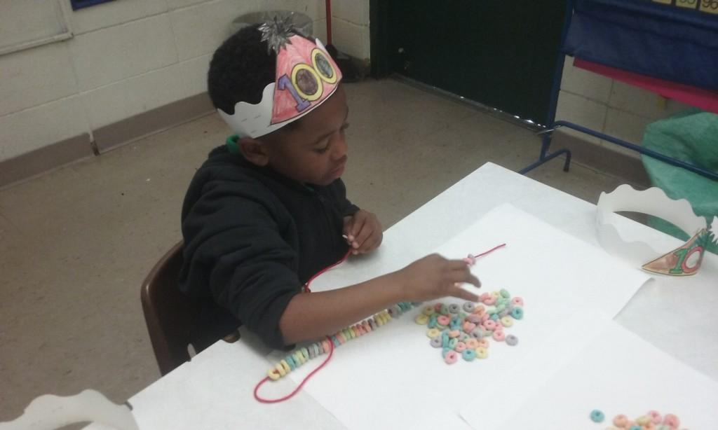 Mrs. Rougeau's 1st grade 100th day activities