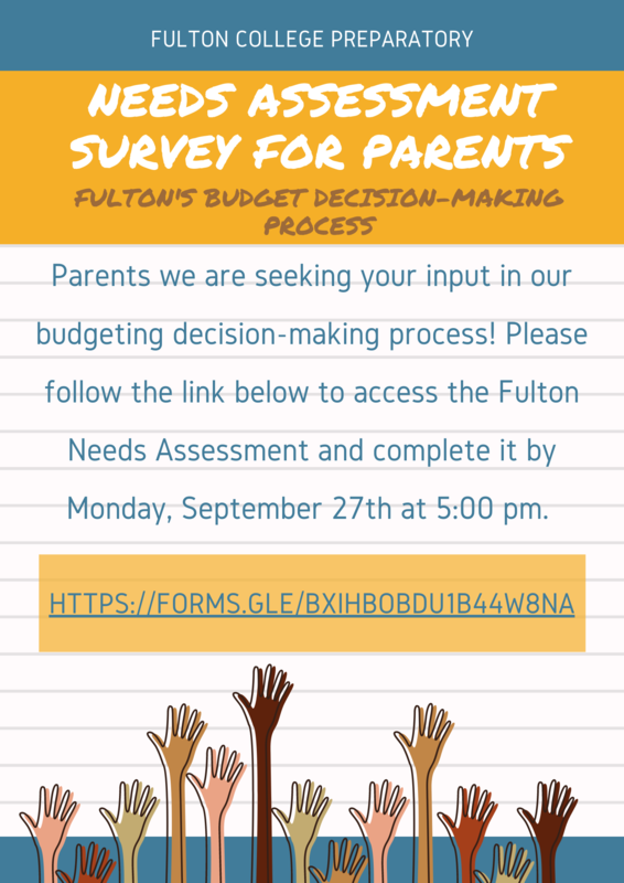 NEEDS ASSESSMENT Survey - for Parents! Featured Photo
