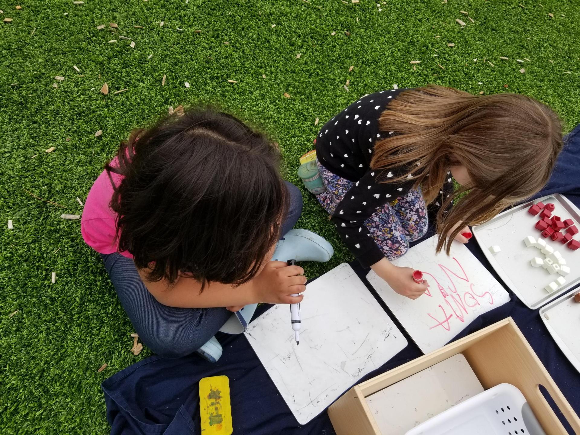 Outdoor journaling