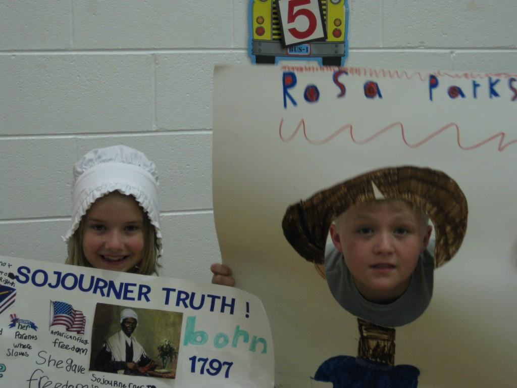 Wax Museum-Sojourner Truth and Rosa Parks