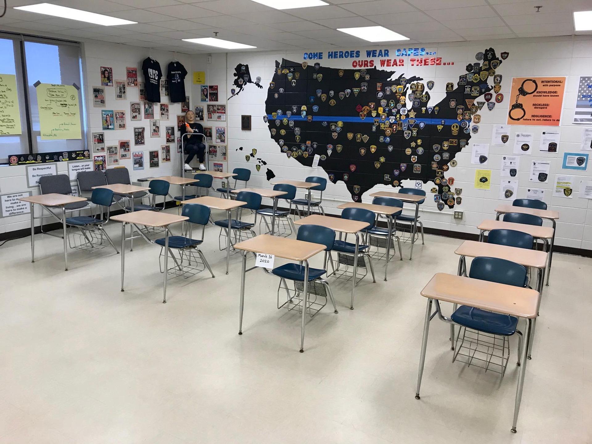 Room 115 Coal City High School Criminal Justice