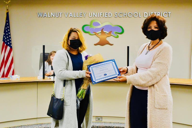 Trustees Honor Student, Parent Volunteer All-Stars Featured Photo