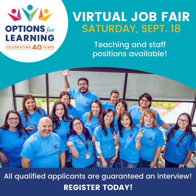Virtual job fair - Saturday, Sept. 18 Featured Photo