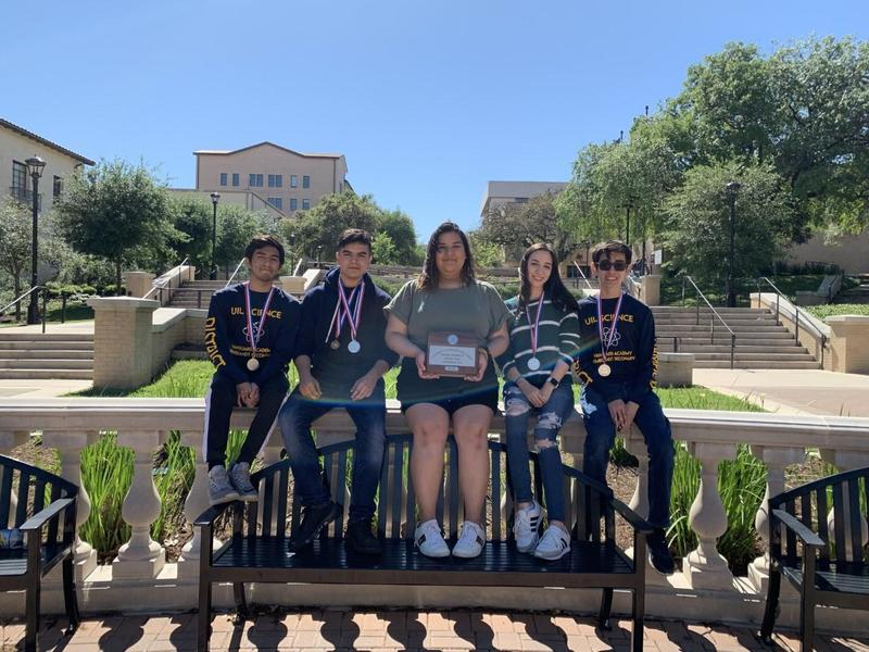 Rembrandt Secondary Science UIL Team wins the UIL Regional Runner-UP 3A competition. Featured Photo