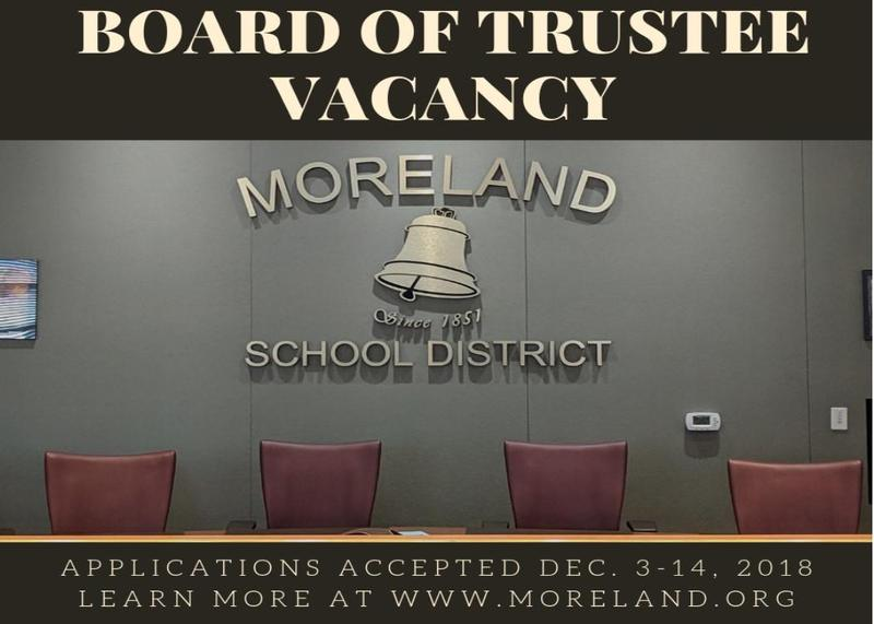 Board of Trustees Vacant Position ~ Applications Being Accepted Thumbnail Image