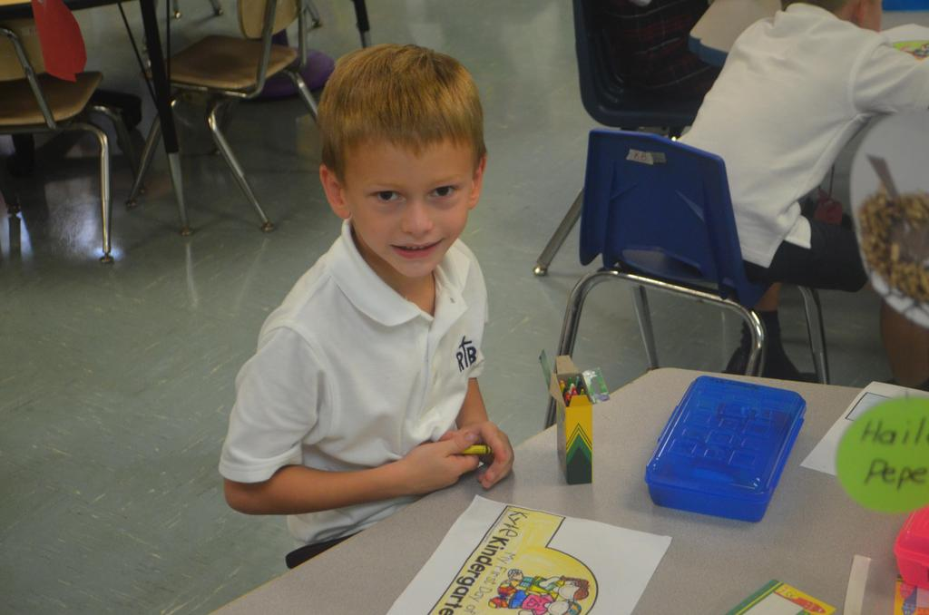 RB PreK-K First Day 2019-20