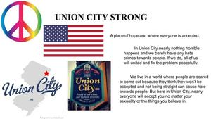 UC strong symbolism poster