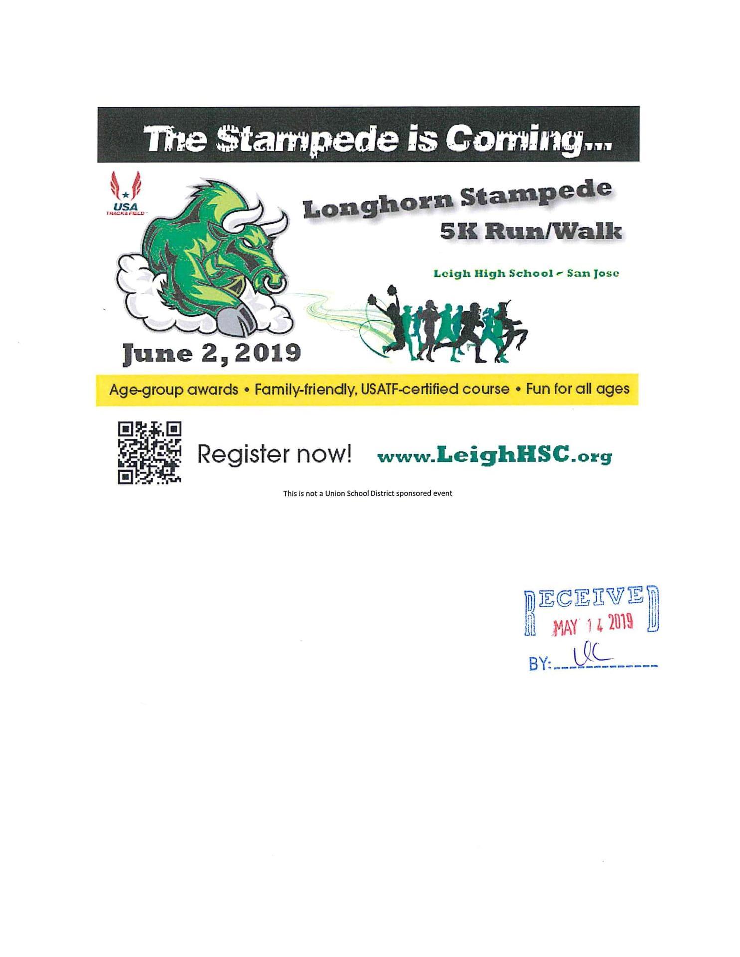 Longhorn Stampede 5K Run