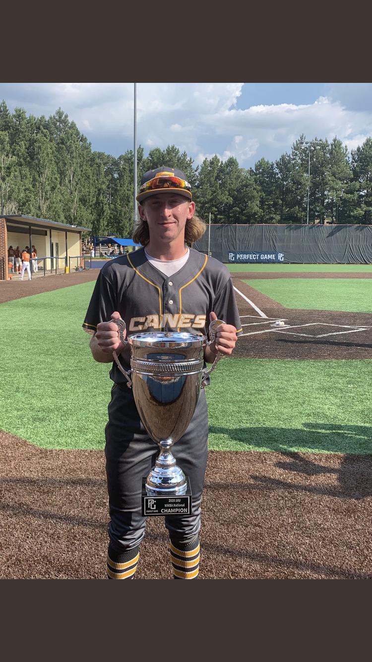 Paxton Kling was a member of the 16U National Championship World Wood Bat Association Canes Baseball team July 2020